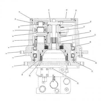 Caterpillar 227-6188 Hydraulic Final Drive Motor